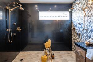 Custom Granite Master Shower