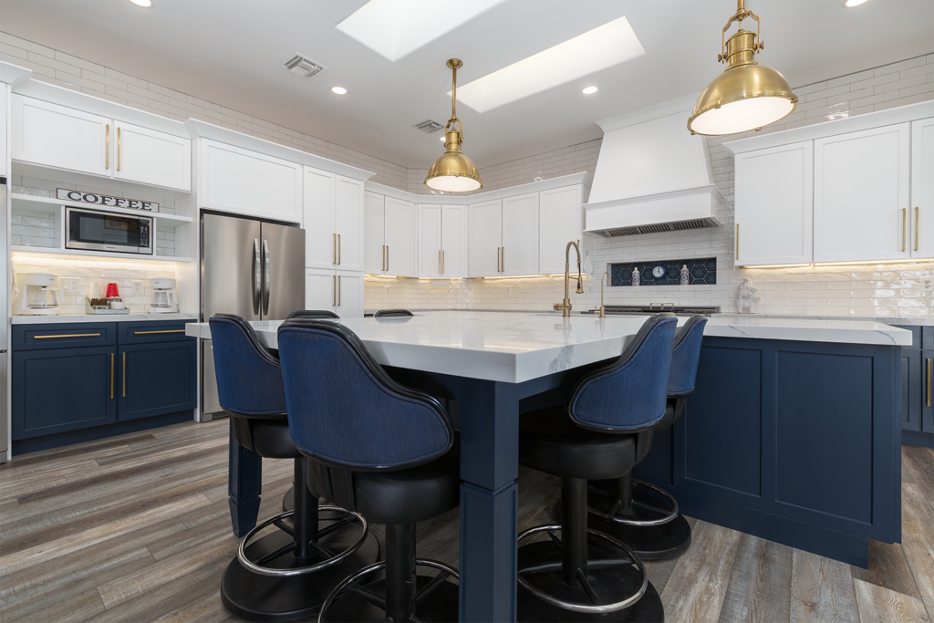 Blue and White Kitchen Design for 2021