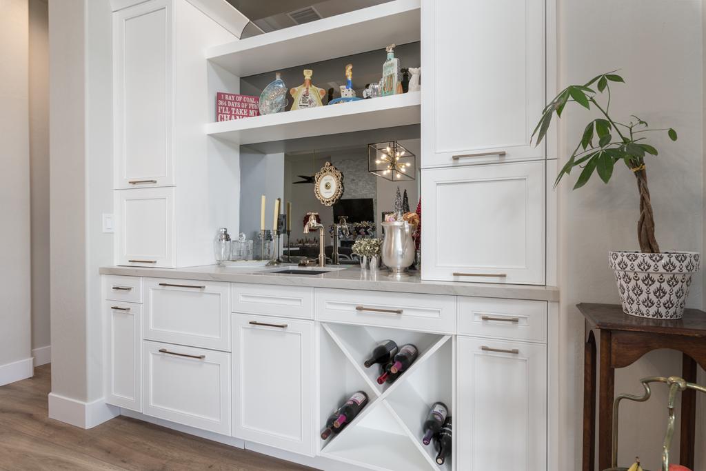 Custom White Cabinetry In Las Vegas
